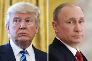 US President Donald Trump said he may ask Russian counterpart Vladimir Putin to extradite 12 Russian intelligence agents.