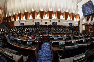 The Malaysian King, Sultan Muhammad V, opened the first session of the 14th Parliament, marking a significant point in the country's history, on July 17, 2018.
