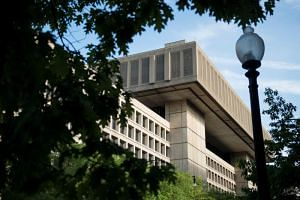 File photo of the J. Edgar Hoover Building, the headquarters for the Federal Bureau of Investigation, in Washington, DC.