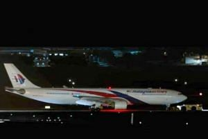 Flight MH134 at Brisbane International Airport. The photo was taken at 2am (Brisbane time) on July 19, 2018.