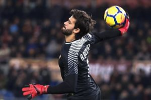 Alisson made 37 league appearances for Roma last season and helped the club reach the Champions League semi-finals.