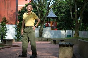Mr Tan How Lit, who had difficulty walking due to compressed spinal nerves, said since taking part in the National Steps Challenge in 2015, he has managed to clock an average of 10,000 steps day.