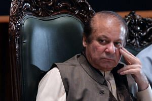 Pakistan's jailed former prime minister Nawaz Sharif was convicted in his absence overseas on corruption charges and arrested upon his return to Pakistan earlier this month.