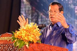 Cambodian Prime Minister Hun Sen is promising schooling for all, hiking education spending to US$850 million (S$$1.16 billion) in 2018, a record quarter of the overall government budget.