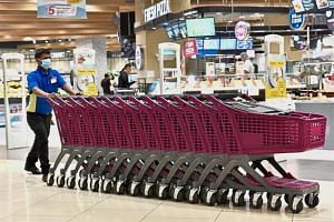 Malls have been told to sanitise their trolleys, child rides and public benches in the wake of the hand, foot and mouth disease outbreak in Penang.