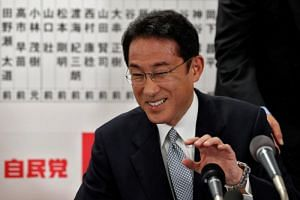 Former Japanese Foreign Minister Fumio Kishida is now the ruling Liberal Democratic Party's policy chief.