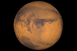 The planet Mars. Nasa's Curiosity rover has found remnants of an ancient freshwater lake on the surface of Mars.