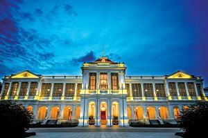 The exterior of the Istana, which will be opened to visitors who can expect musical performances, art activities and guided tours on Sunday.