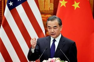 File photo showing Chinese Foreign Minister Wang Yi, who said that China's door of dialogue with the United States on bilateral trade frictions remains open, while reiterating that Beijing does not want a trade war.