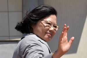 Taiwan's President Tsai Ing-wen will transit in Los Angeles and Houston during the trip set for Aug 12-20, 2018.