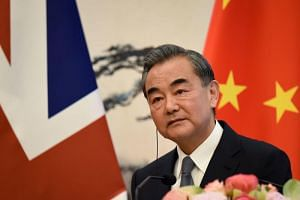 Chinese Foreign Minister Wang Yi said that China was willing to resume talks with the US if the conditions were right.