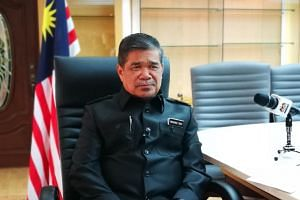 Malaysian Defence Minister Mohamad Sabu in an interview with The Straits Times on June 28, 2018.