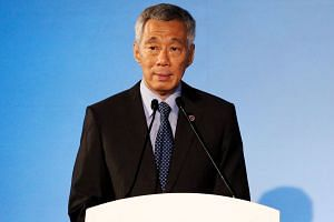 Prime Minister Lee Hsien Loong opened the Asean meetings and emphasised the need to press on with economic integration and support for the multilateral trading system, which is under pressure.