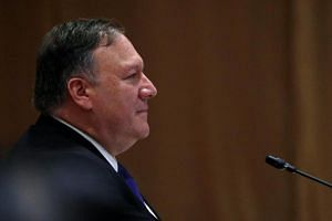 US Secretary of State Mike Pompeo attends an Asean-US Ministerial Meeting in Singapore, on Aug 3, 2018.