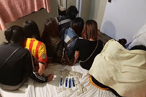 25 women and nine men between the ages of 22 and 74 were arrested in raids conducted in areas such as Jalan Besar, Lavender Street, Stamford Road and Middle Road.