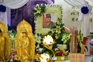 Corporal First Class Dave Lee Han Xuan died on April 30, 2018, after he suffered heatstroke.