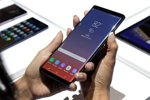 Samsung unveiled its newest smartphone, the Galaxy Note9, on Aug 9, 2018.