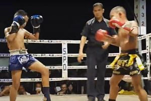 The 1999 Boxing Act requires that all muay thai boxers be above the age of 15, but the study estimated that 200,000 to 300,000 children - some as young as four - are taking part in these boxing competitions nationwide.
