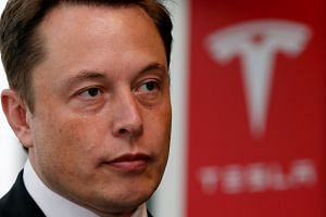 Market uncertainty over whether Mr Elon Musk really had lined up the billions of dollars he'd need has led to wild trading in the electric-car maker's shares ever since his Aug 7 tweet.