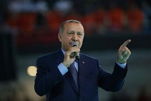 Turkish President Recep Tayyip Erdogan has repeatedly called for citizens to convert their considerable foreign-exchange deposits to support the lira, but has failed to back his demands with any policy action. Citizens wary of losing money are holdin