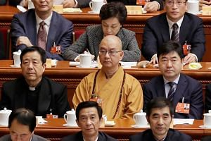 Xuecheng stepped down from his post as president of the Buddhist Association of China. He is accused of sending explicit text messages to at least six women, threatening or cajoling them to have sex with him.