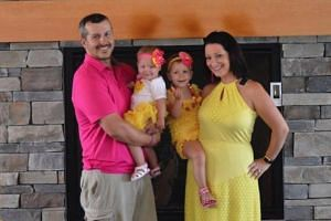 Christopher Watts, 33, was taken into custody late on Aug 15 for the suspected murder of his wife Shanann Watts, 34, and of the couple's children.