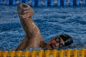 """Joseph Schooling is seeking to prove to himself that he is """"back on track"""" following an abysmal two years after his historic achievement in Rio."""