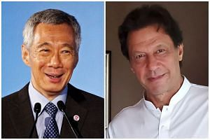 Prime Minister Lee Hsien Loong has written a congratulatory letter to Mr Imran Khan after the latter was sworn in as Pakistan's Prime Minister on Aug 18, 2018.