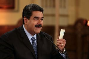 Venezuela's president Nicolas Maduro said on Aug 17 he will hike the minimum wage by over 3,000 per cent, boost the corporate tax rate, and increase highly-subsidised gas prices in the coming weeks in one of his government's biggest economic overha