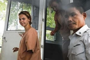 Anastasia Vashukevich, better known by her pen name Nastya Rybka, has been detained in Thailand since February when police raided a risque seminar in the seaside resort city of Pattaya.