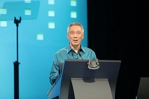 """Noting that public housing in Singapore is really """"national housing"""", Prime Minister Lee Hsien Loong said at the National Day Rally that """"we made it happen through sound policies, unwavering political resolve and the strong support of Singaporeans""""."""