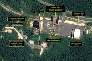 The 38 North report comes at a time of widespread doubts about North Korea's willingness to go along with US demands for it to give up its nuclear weapons.