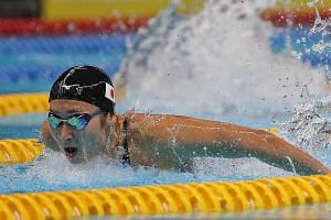 Japan's Rikako Ikee's six golds at the Asiad - all in Games record times - came in the 50m and 100m freestyle, 50m and 100m butterfly, and 4x100m medley and free relays. Ikee is now the fastest woman this year in the 100m fly (56.08sec) and second-fa