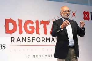 DBS chief executive officer Piyush Gupta said the accolade for the bank from Global Finance magazine shows how