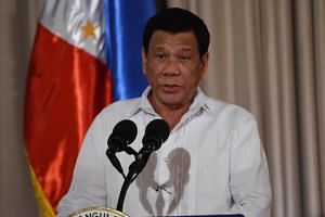 Philippine President Rodrigo Duterte said he has told police to kill only if their lives were in danger.