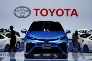 Toyota and Uber Technologies are widely seen as lagging the competition in developing self-driving cars.