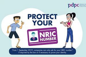 From Sept 1 next year, Singaporeans will no longer have to give up their NRIC number or card, unless in required by law or when necessary for identification.
