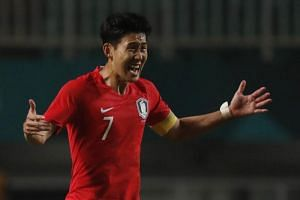 Tottenham Hotspur forward Son Heung-min led South Korea to the Asian Games gold on Sept 1, 2018.