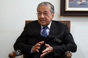 Malaysia's PM Mahathir Mohamad said it was time to change the practice and start
