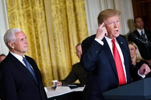 US President Donald Trump will not be attending the US-Asean and East Asia summits in Singapore in November, with Vice-President Mike Pence attending instead.