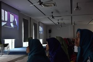 A screening of Pengantin, which explores the issues faced by Indonesian maids in their search for companionship. Indonesian deradicalisation advocate Noor Huda Ismail made the film to drive home the message using a visual medium.