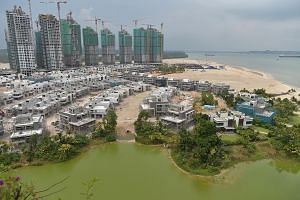 Forest City - a mixed-use development with homes, offices and shops on four artificial islands in Johor - is set to be built over 30 years. About 20,000 units were launched for sale by the end of last year, of which about 18,000 were sold.
