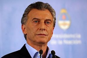 Argentina's President Mauricio Macri said the country is facing