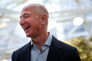 Mr Jeff Bezos' net worth is estimated at US$166 billion (S$229 billion), boosted by the rise in Amazon's share price this year. The 54-year-old entrepreneur's formula for success includes taking bold bets, riding change and rebounding from setbacks.