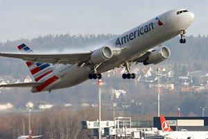 An American Airlines aircraft taking off in a file photo.