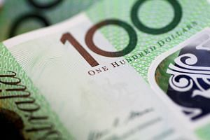 Australia's dollar is being battered due to the economy's close ties to China and reliance on offshore funding.