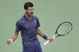 Novak  Djokovic (pictured) is now just three Slams behind Rafael Nadal and six back from the record 20 held by Roger Federer.