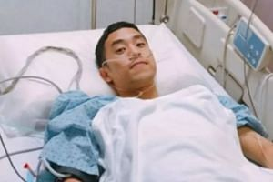 Mr Chen Ze Rong donated 67 per cent of his liver to his former science teacher Ms Liang Feng Pin.