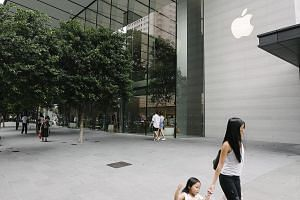 Apple's store in Orchard Road. There are suggestions the new store may be located at Jewel Changi Airport.