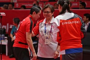 """Singapore Table Tennis Association president Ellen Lee said that """"there are many ways of promoting sports"""", and noted that participating in competitions was just one component."""